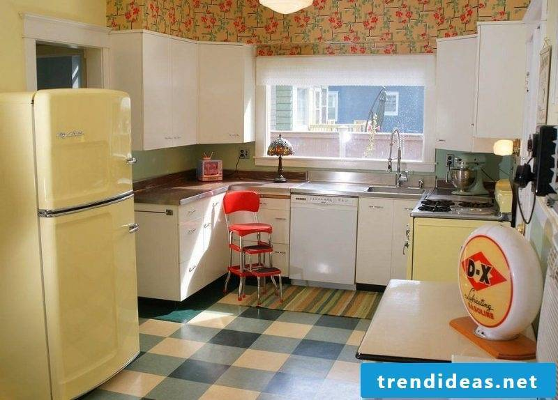 Bosch retro fridge Beige