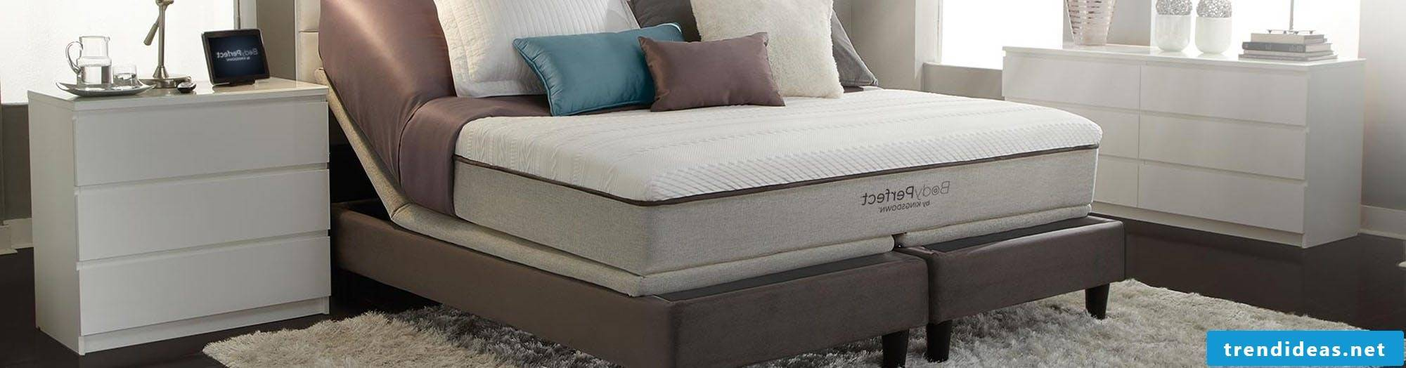 Box spring bed design