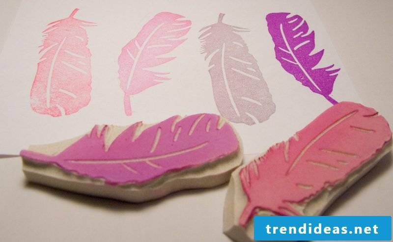 DIY stamps make ideas