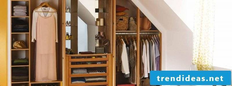 Built-in wardrobe ideas design