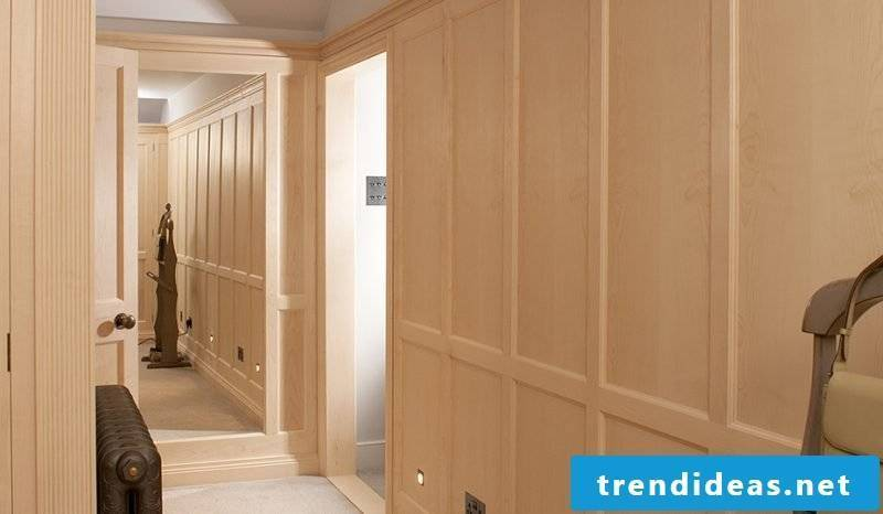 Built-in wardrobe hallway