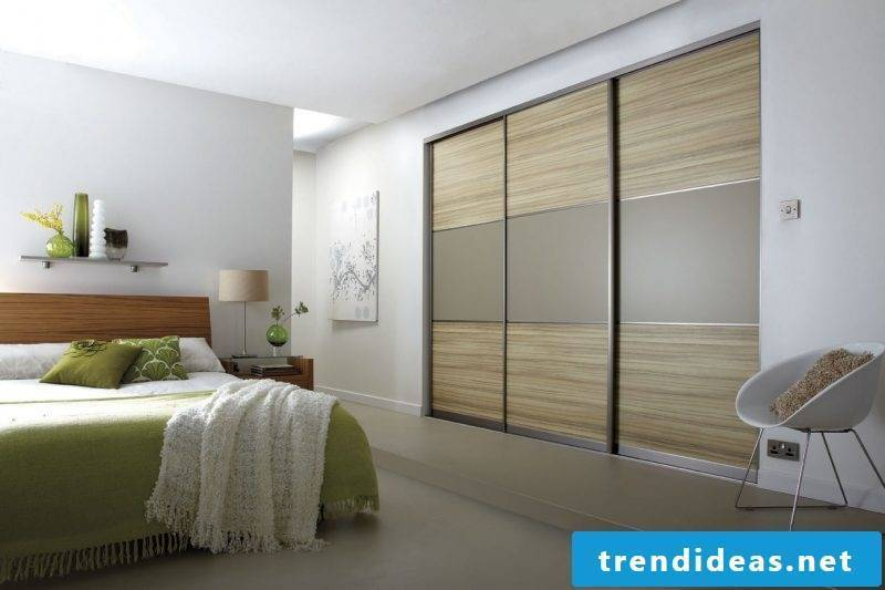Built-in wardrobe bedroom design
