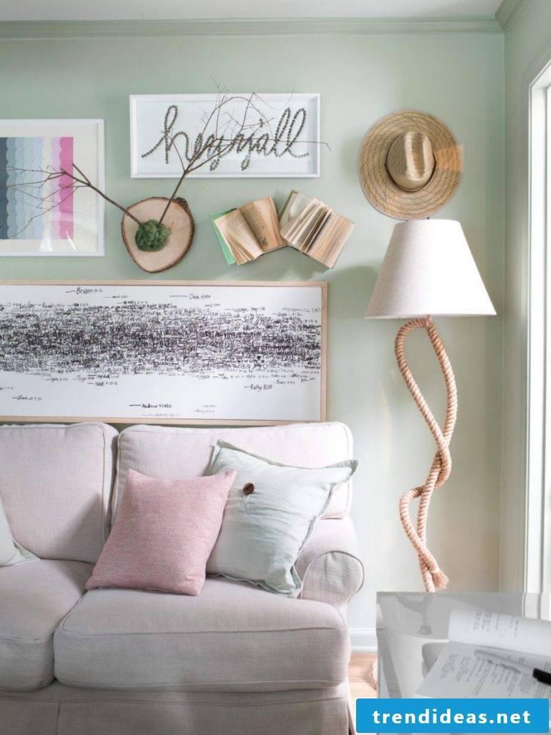 wall decoration pictures books creative diy deco ideas safa pillow flat decorate