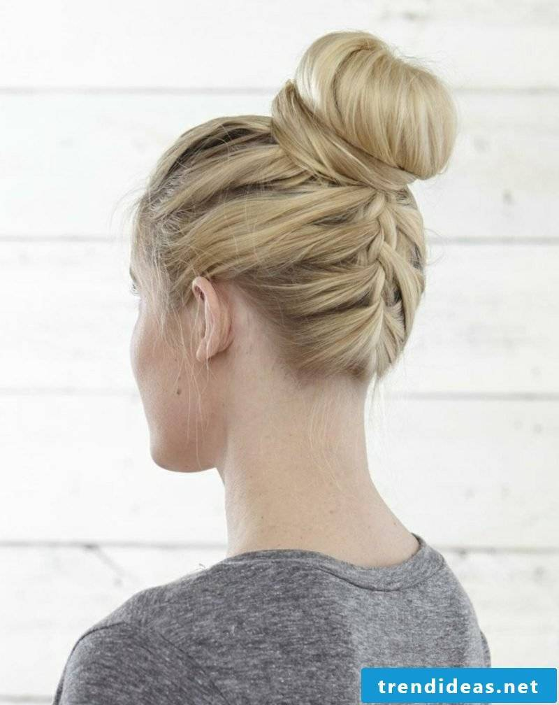 Braided hairstyles shoulder length Octoberfest