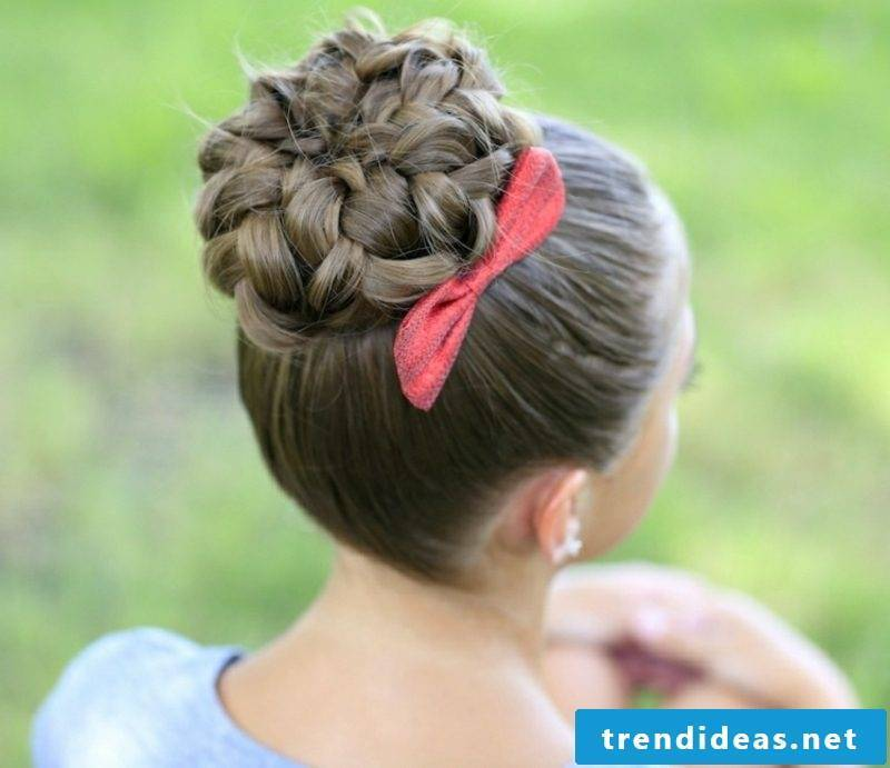 long hair braids dirndl hairstyles