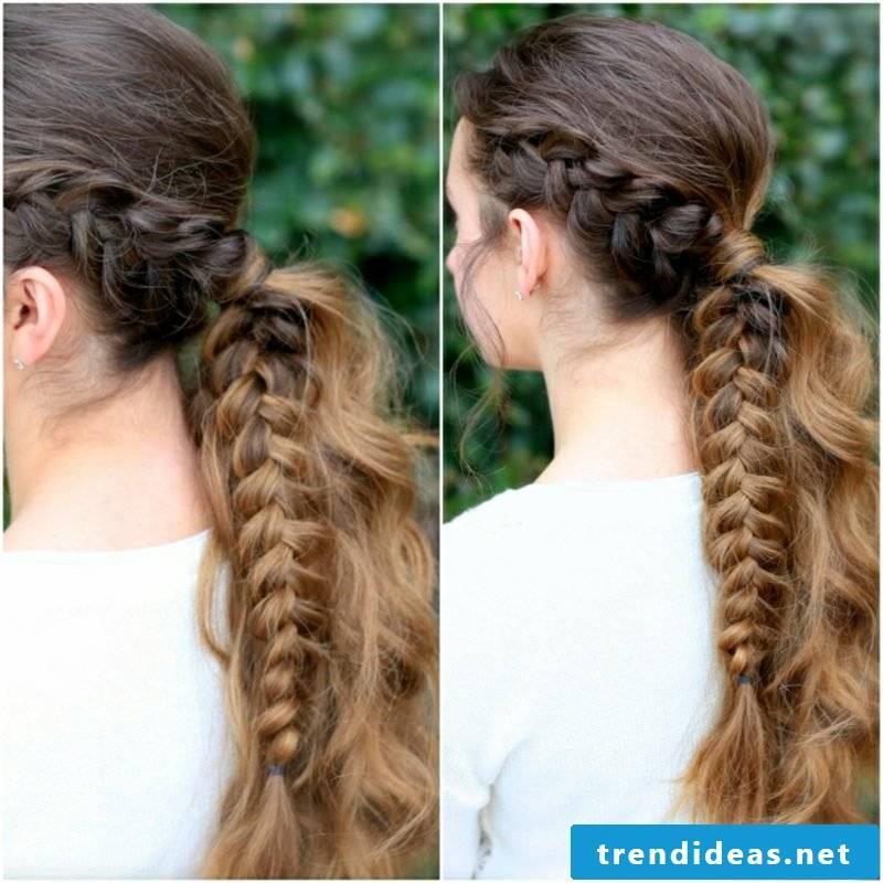 fancy dirndl hairstyles