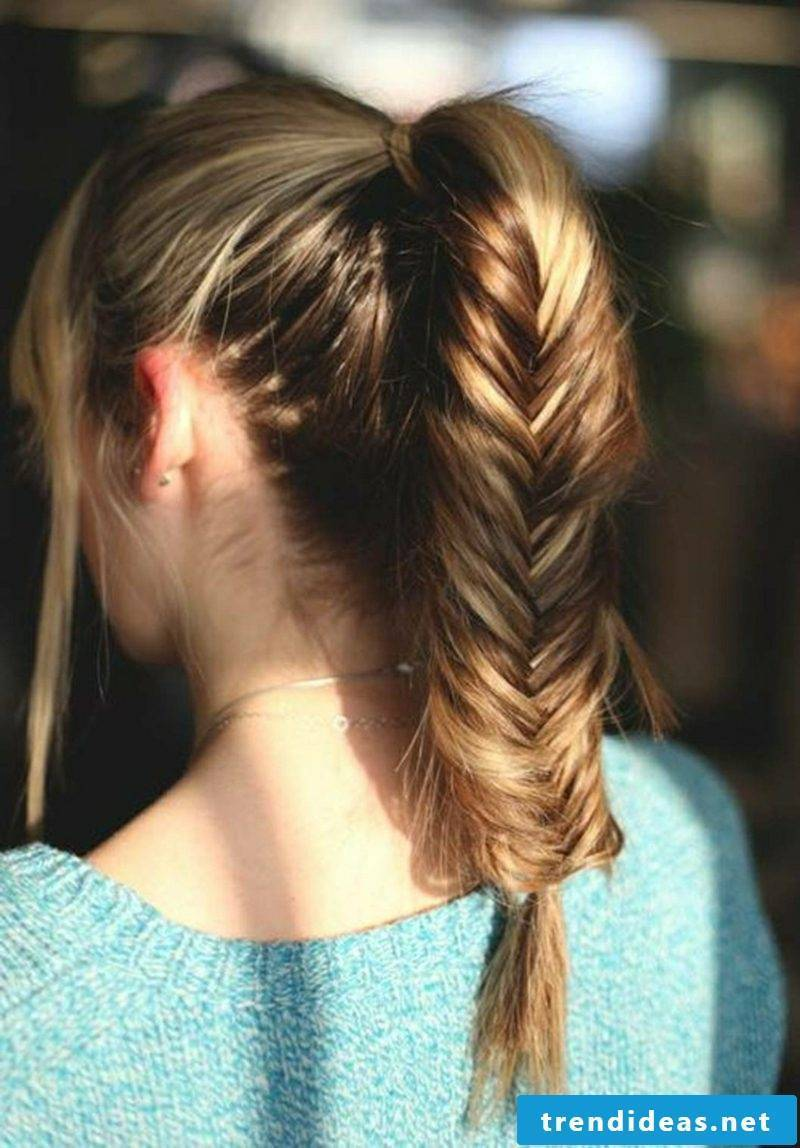 casual hairstyles Octoberfest