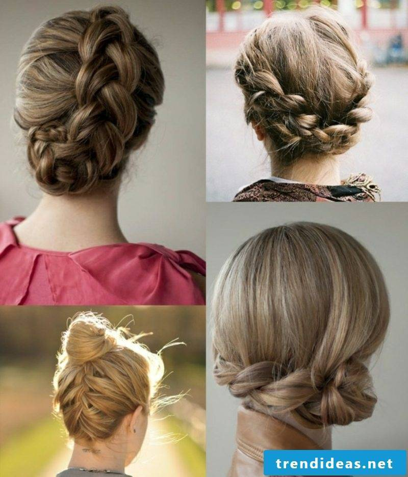 Braided hairstyles for long hair Octoberfest