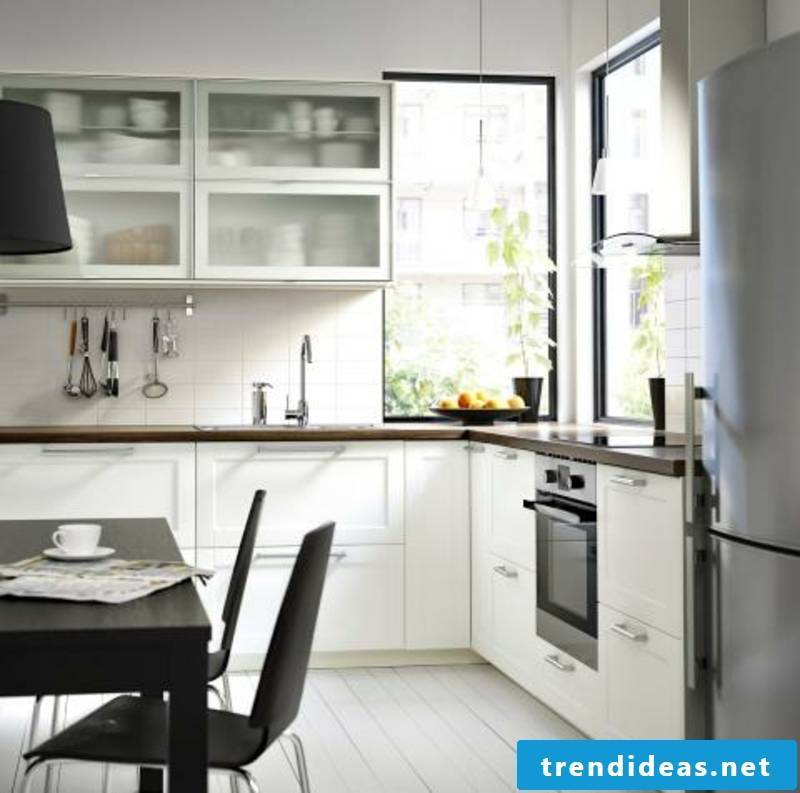 Kitchen in bright colors