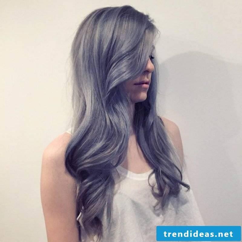 Directions Hair dye in gray