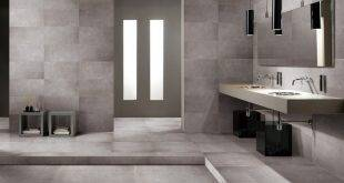 The new trend for the bathroom: concrete look