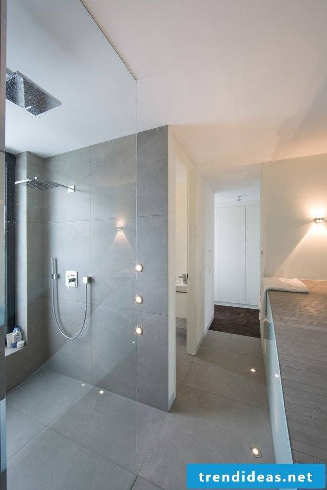 With tiles in concrete look you design in a minimalist style