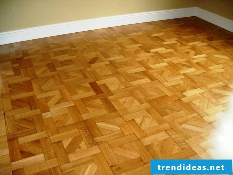 oak parquet floor