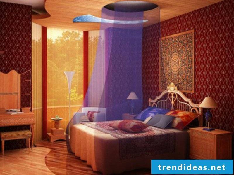 designer colorful bedroom design