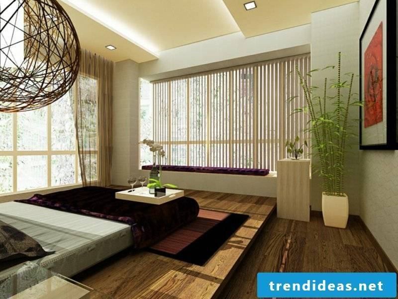 Bamboo in the bedroom design