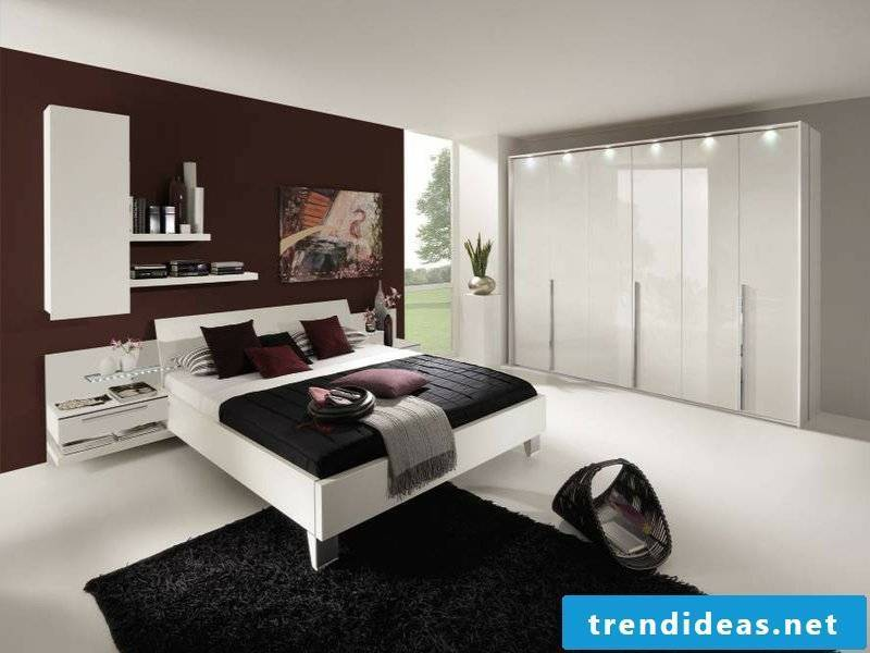 extremely fashionable bedroom design