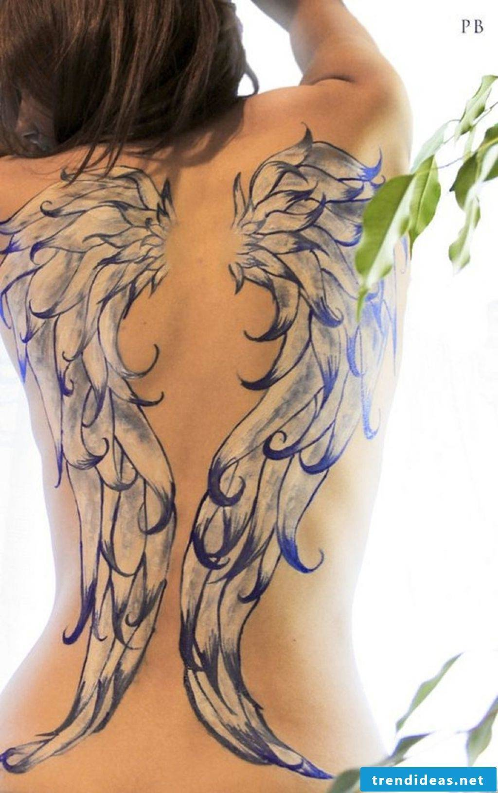 Angel wings templates and ideas