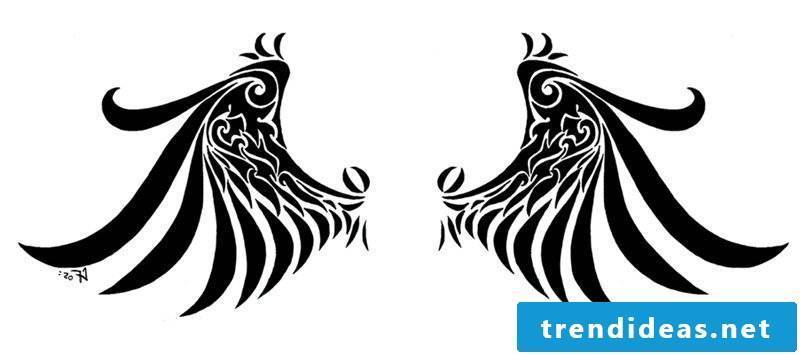 Angel wings templates for free printing