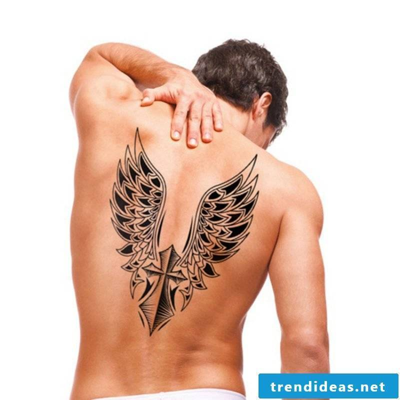 Angel wings templates and meaning