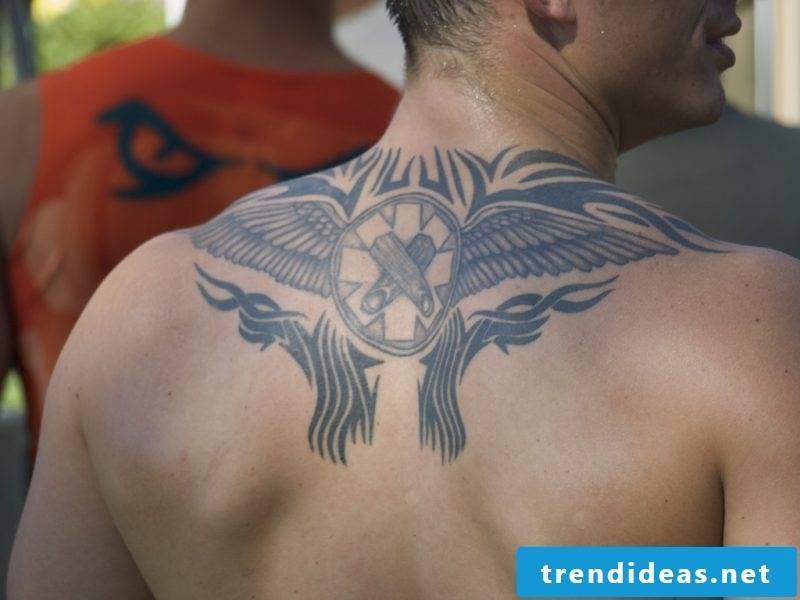 Angel wings templates for men