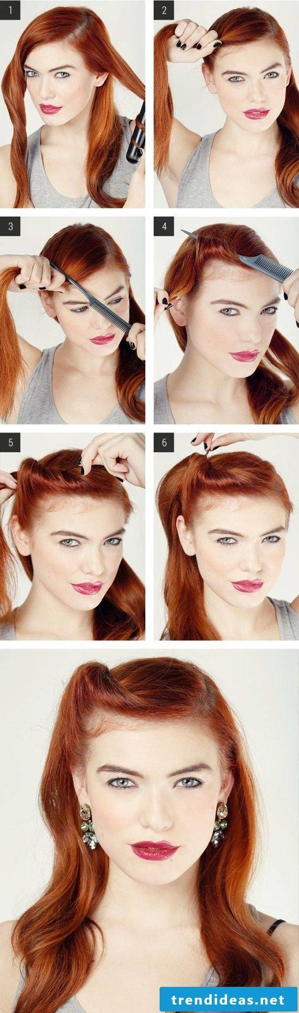 Modern meets Rockabilly - The result looks beautiful!