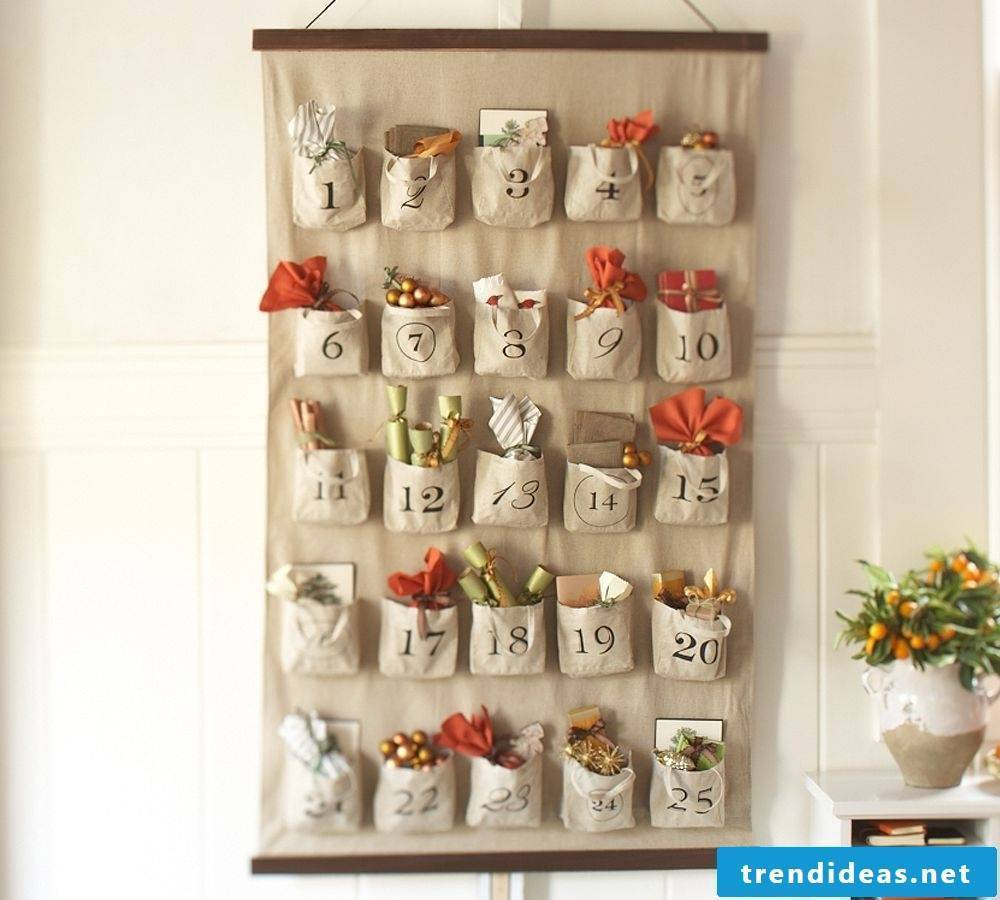 Advent calendar for those who can sew