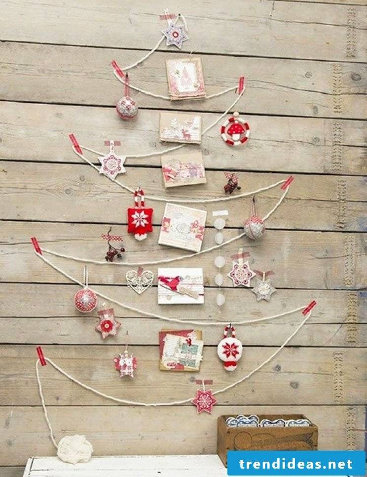 Simple and chic - Advent calendar ideas