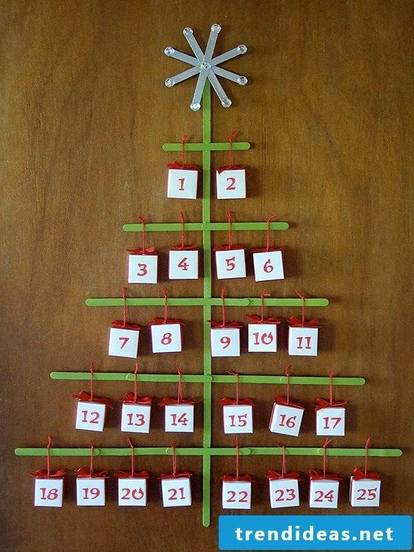 Make advent calendar yourself