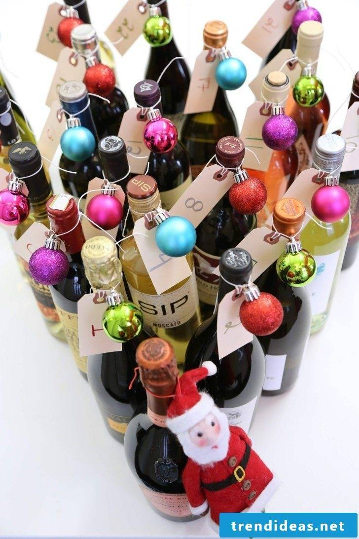Advent calendar for adults - a new drink every day