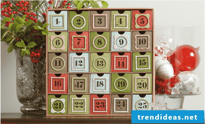 Tinker and fill advent calendars