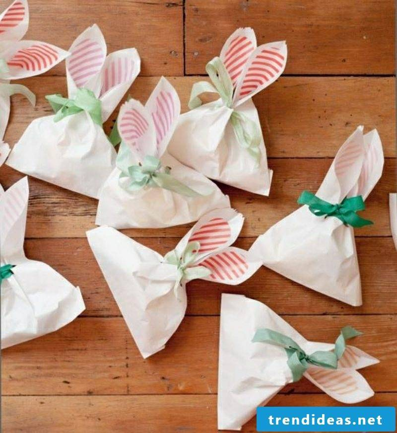 Easter presents are made from paper