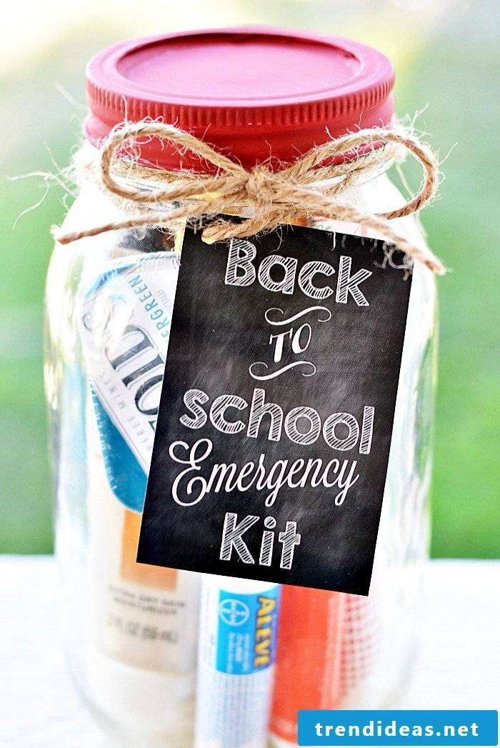 DIY gifts for school enrollment
