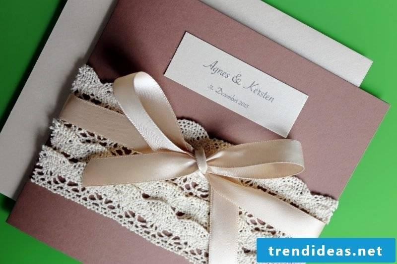decent wedding cards tinker in vintage style
