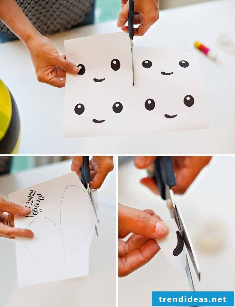 Simple craft ideas with balloons
