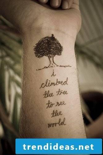 tattoo writings tattoos men wrist