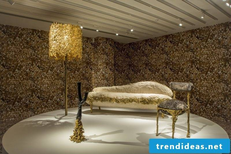 Furniture designer Campana interior design