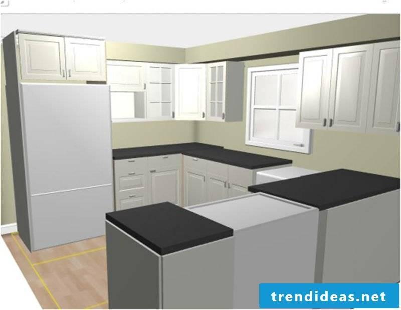 Kitchen design IKEA Home planner