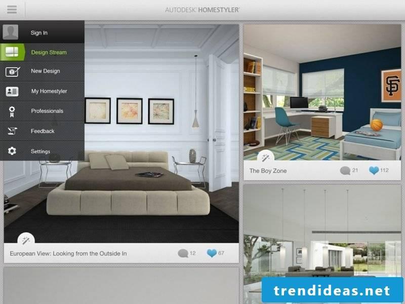 free online room designer Homestyler