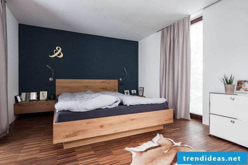 Bedroom turquoise