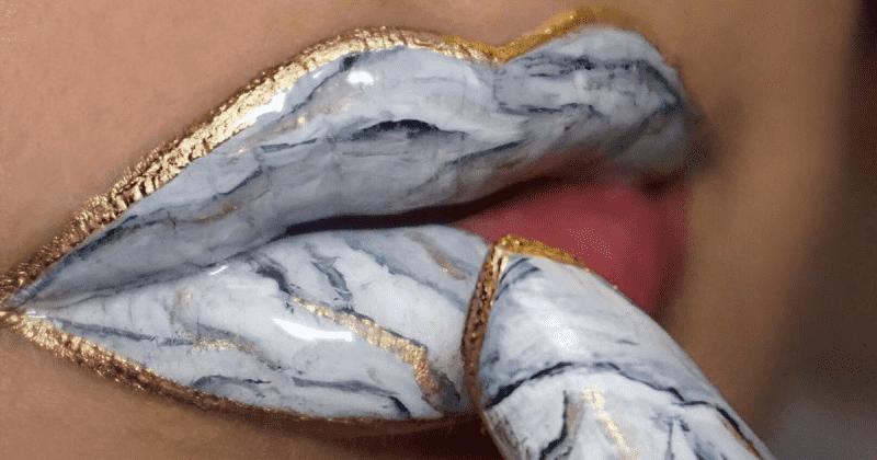 Marbel lipstick