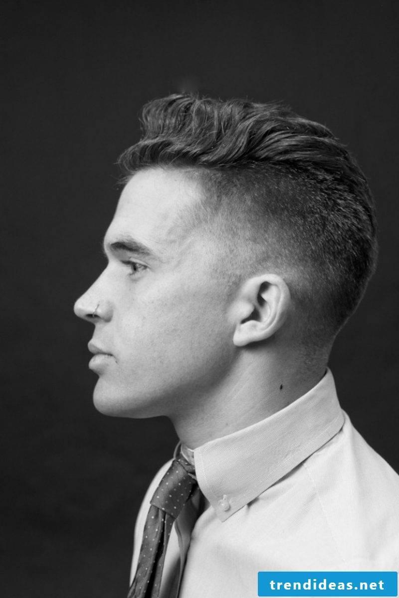Fade haircut short hair trend hairstyles 2015 for men