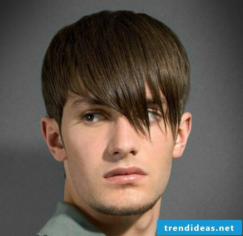 Trend hairstyles 2015 for men Haircut with long bangs