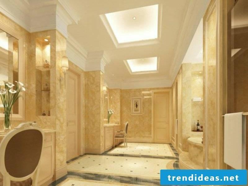minimalist indirect bathroom lighting