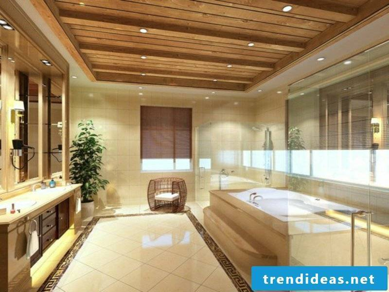 modern fantastic lighting in the bathroom