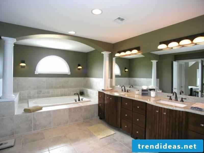 modern ultratolle bathroom lighting