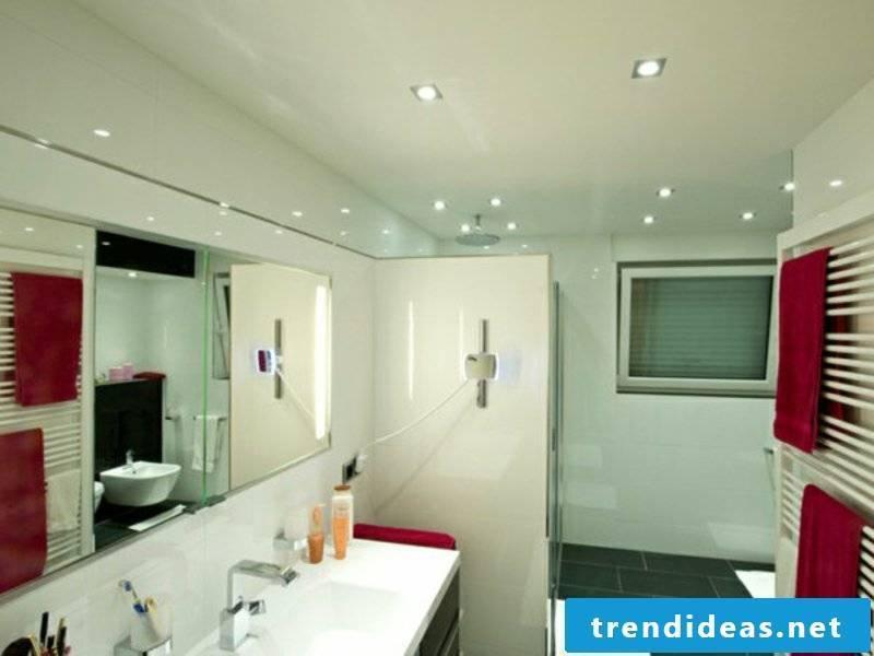 LED lighting in the modern bathroom