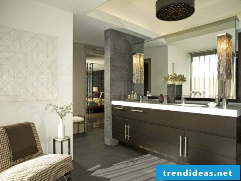 modern indirect led bathroom lighting