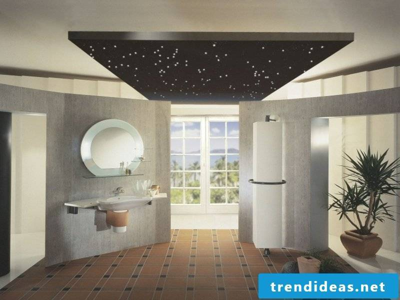 eye-catching decrative bathroom lighting