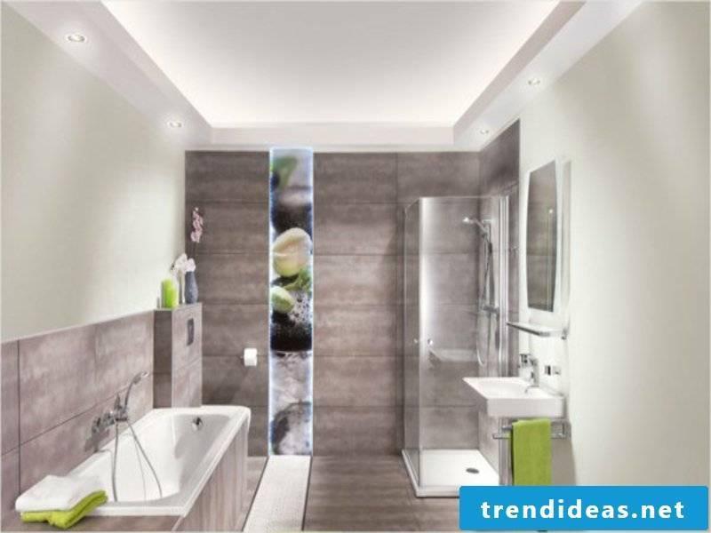 modern designer bathroom lighting