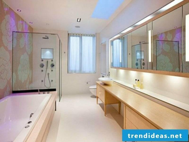LED lighting in the bathroom